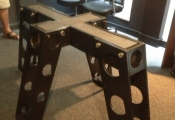 industrial style table base